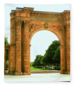 Union Station Arch Fleece Blanket