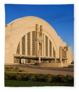 Union Terminal, Cincinnati Fleece Blanket