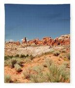 Utah Landscape 3 Fleece Blanket