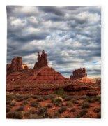 Valley Of The Gods II Fleece Blanket