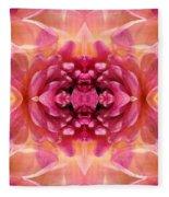 Valley Porcupine Abstract Fleece Blanket