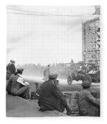 Vanderbilt Cup, 1910 Fleece Blanket