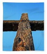 Ventura Cross Fleece Blanket