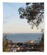 Ventura Skyline Fleece Blanket