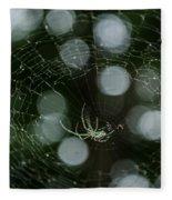 Venusta Orchard Spider Fleece Blanket