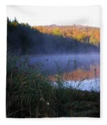 Vermont Pond Fleece Blanket