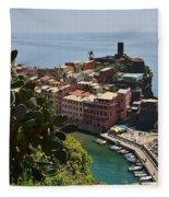 Vernazza - Cinque Terre Fleece Blanket