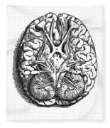 Vesalius: Brain Fleece Blanket
