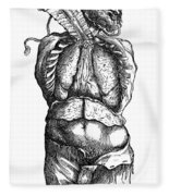 Vesalius: Thoracic Cavity Fleece Blanket