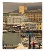 Victoria And Albert Waterfront Fleece Blanket