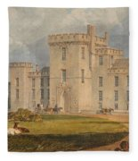 View Of Hampton Court Fleece Blanket