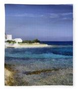 Greek Villa Fleece Blanket