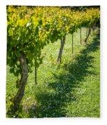Vineyard Farm Fleece Blanket