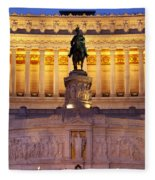Vittorio Emanuele - Rome Fleece Blanket