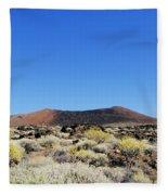 Volcanic Landscape Fleece Blanket