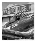 Warbird Museum Fleece Blanket