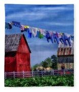 Wash Day Fleece Blanket