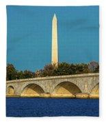 Washington D.c. - Memorial Bridge Spans Fleece Blanket