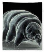 Water Bear Tardigrades Fleece Blanket