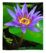 Water Lily 20 Fleece Blanket