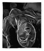 We Fade To Grey Fleece Blanket