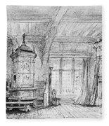 Weber Der Freischutz, 1821 Fleece Blanket