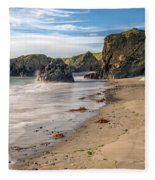 Welsh Coast Fleece Blanket