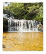 Wentworth Falls Blue Mountains Fleece Blanket