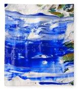 Wet Paint 54 Fleece Blanket