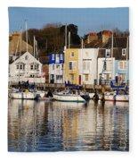 Weymouth In The Water Fleece Blanket