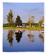 Which Way Is Up Fleece Blanket