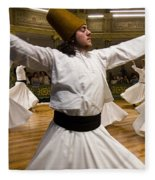Whirling Dervishes Fleece Blanket