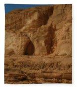 White Canyon Sinai Desert Egypt Fleece Blanket
