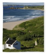 White Park Bay, Ireland Fleece Blanket
