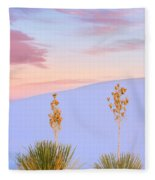 White Sands National Monument Fleece Blanket