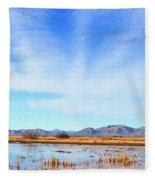 White Water Draw Preserve Fleece Blanket
