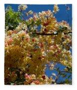 Wilhelmina Tenney Rainbow Shower Tree Fleece Blanket
