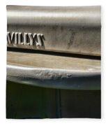 Willys Jeep  Fleece Blanket