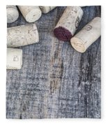 Wine Corks Fleece Blanket