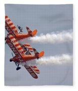 Wing Walkers  Fleece Blanket