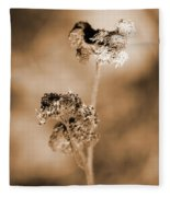 Withering Weed Fleece Blanket
