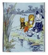 Wizard Of Oz, 1900 Fleece Blanket