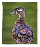 Wood Duck Juvenile Fleece Blanket