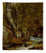 Woodland Interior Fleece Blanket