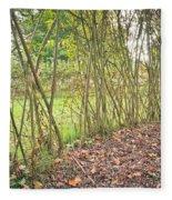 Woodland Path Fleece Blanket