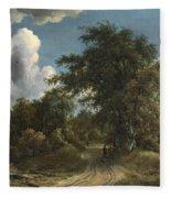 Woodland Road Fleece Blanket
