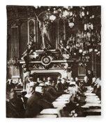World War I Paris, 1919 Fleece Blanket