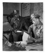 Wwii: Tuskegee Airmen, 1945 Fleece Blanket