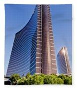 Wynn And Encore Hotels  Fleece Blanket