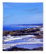 Yachats Oregon 2013 Fleece Blanket